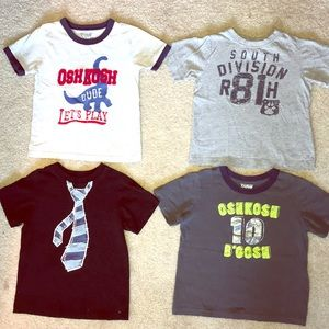 Other - 4-4T Short Sleeved T's
